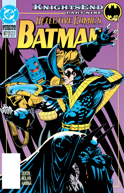 Detective Comics (1937) 677 Page 1