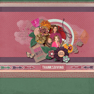 Creative Team, Annemarie, for GingerScraps - Give Thanks, Collaboration (FREE DAILY DOWNLOAD KIT)