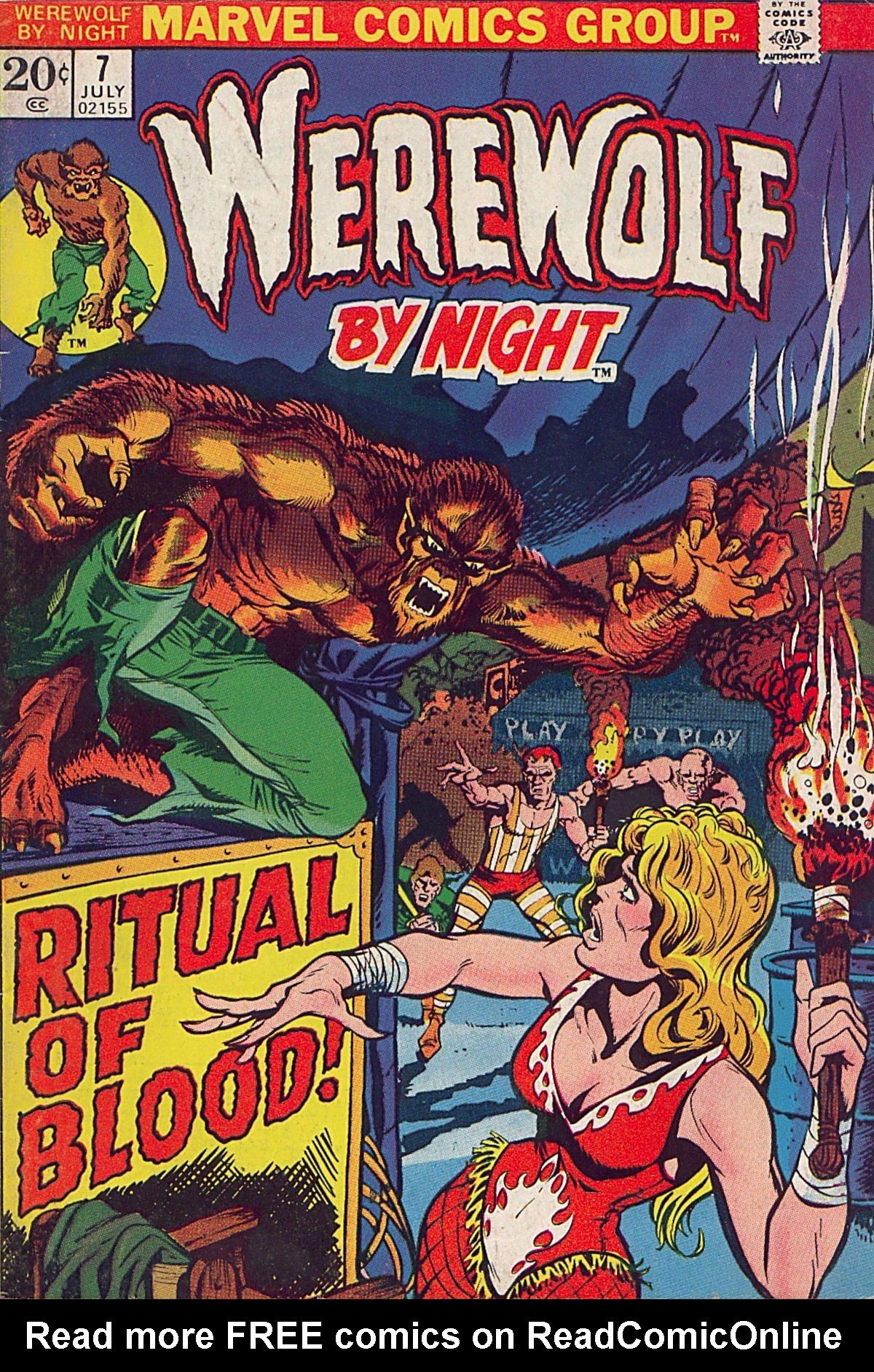 Werewolf by Night (1972) issue 7 - Page 1