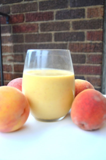 Peach Mango Smoothie with Glucerna