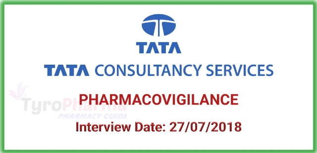Walk in drive for Pharmacovigilance at TCS Mumbai