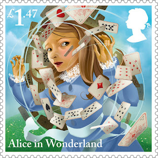 Reino Unido - Filatelia - 2015 - Alice in Wonderland 10