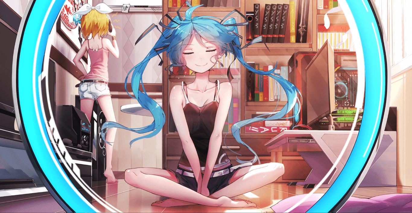 Miku Unleashed - Vocaloid [Wallpaper Engine Anime]