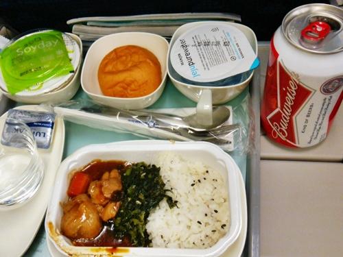 KE629のYの機内食