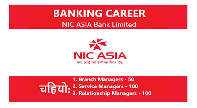 Banking Career Opportunities at NIC ASIA Bank