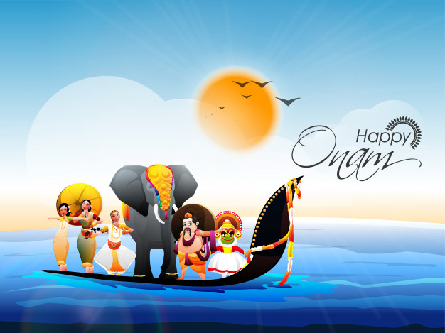 Onam festival background Wallpaper