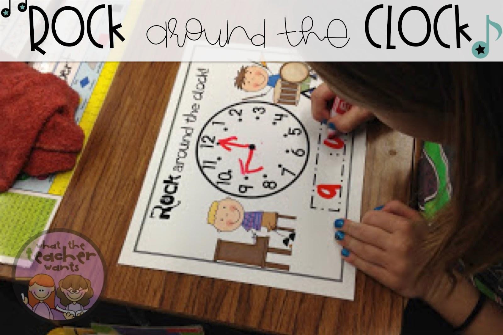 What The Teacher Wants Math Tub Time