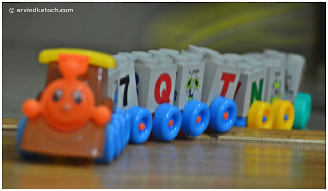 Toy Train, Alphabets, Child Imagination,