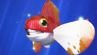 قصص اطفال قصيرة جدا ومفيدة / قصة مغامرات سمكة كبيرة