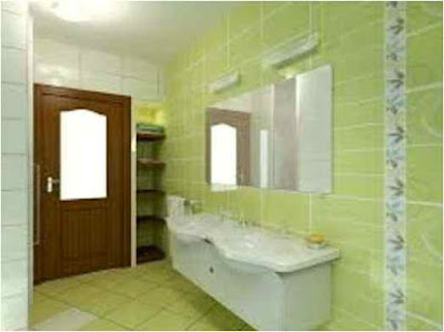 Decorating Ideas For Bathroom With Green Tile