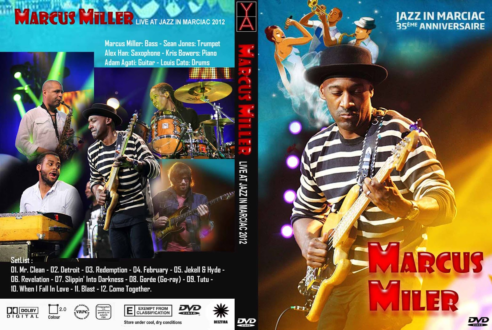marcus miller live