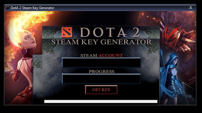 Dota 2 Steam Key Generator
