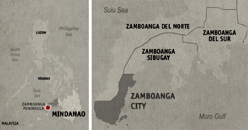 Zamboanga City Location Map