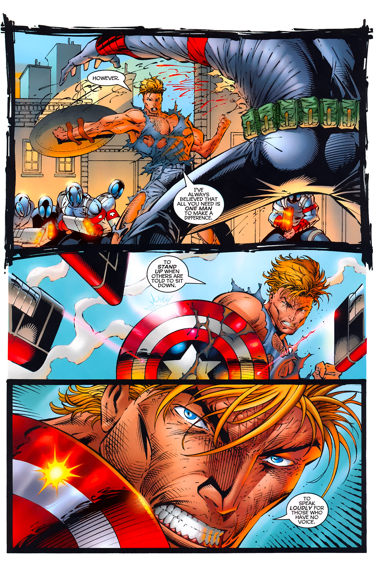 Captain America (1996) Issue #1 #1 - English 36