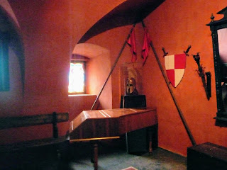 Замок Сент-Миклош. Интерьеры замка