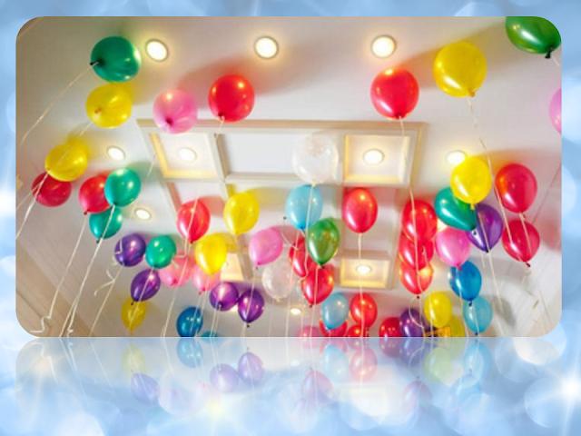 Dekorasi Ulang Tahun dengan Balon Terbang