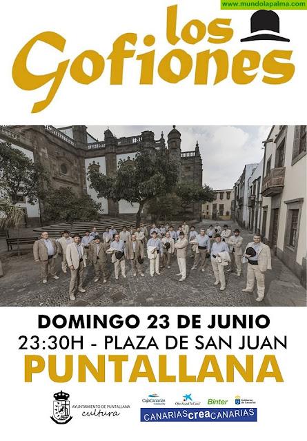 Concierto de Los Gofiones en Puntallana