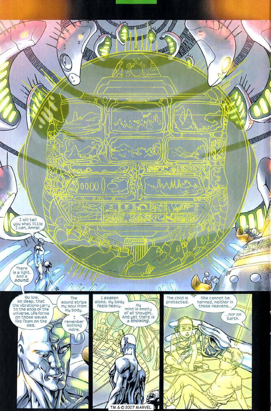 Read online Silver Surfer (2003) comic -  Issue #6 - 12