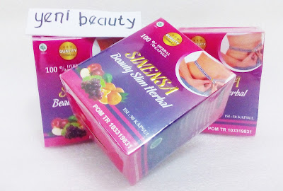 Produk Sinensa Beauty Slim Herbal