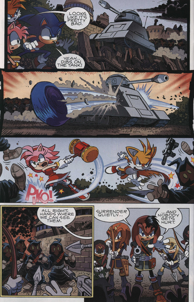 Read online Sonic The Hedgehog comic -  Issue #243 - 12