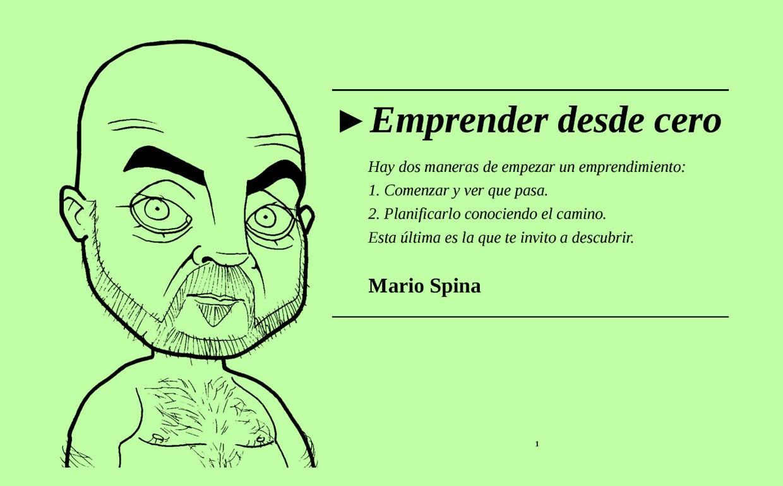 Emprender desde cero – Mario Spina