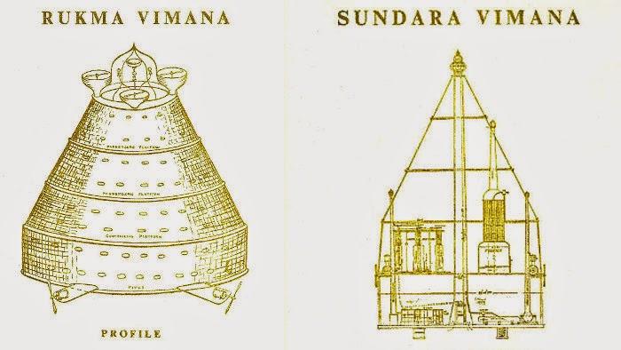 32 Rahasia Vimana, Kenderaan Suci India Kuno