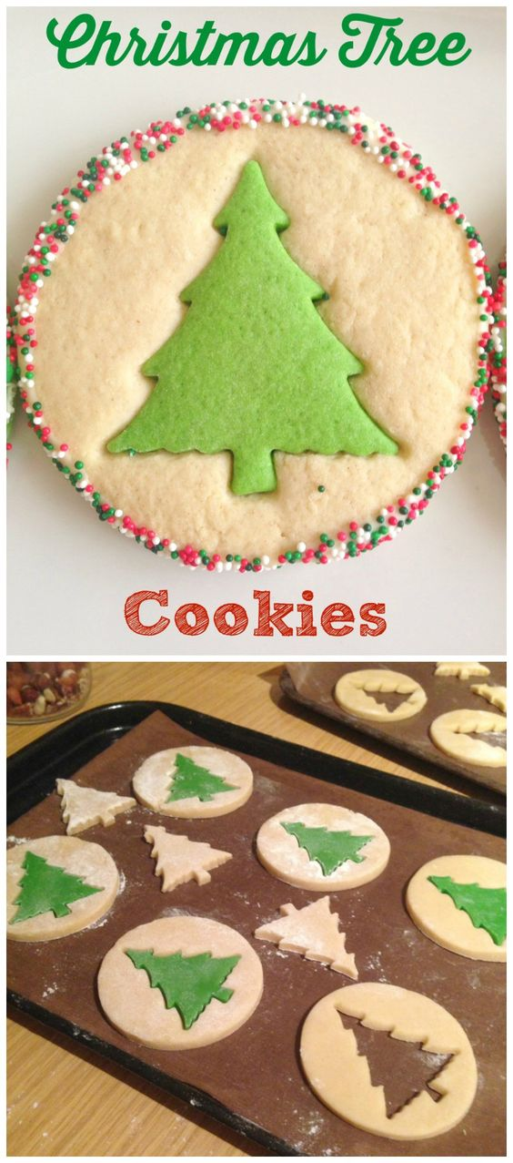 Christmas Tree Cookies | Sweetiest Plate