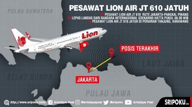 Misteri Pilot Lion Air JT 610 Sempat Ingin Balik ke Bandara, Ada Apa?