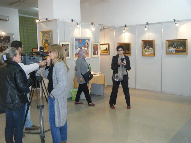 Exposition de peintures à La Galerie Aicha Haddad 2