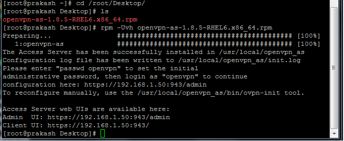 RC's Blog: OpenVPN Installation RHEL 6 with Windows client
