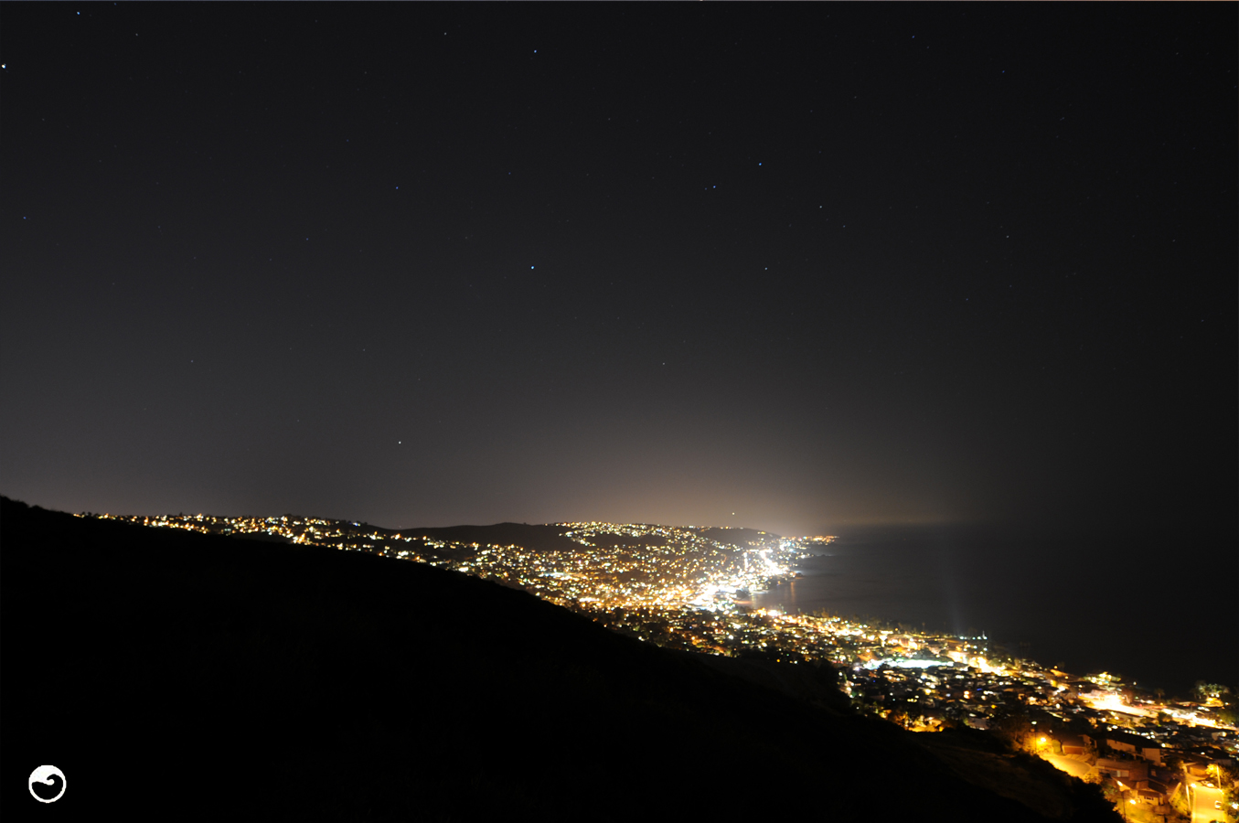 Laguna Beach At Night
