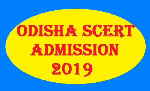 Odisha SCERT CT B.Ed Entrance exam 2019
