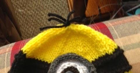 Kriskrafter Free Knitting Pattern A Minion Hat