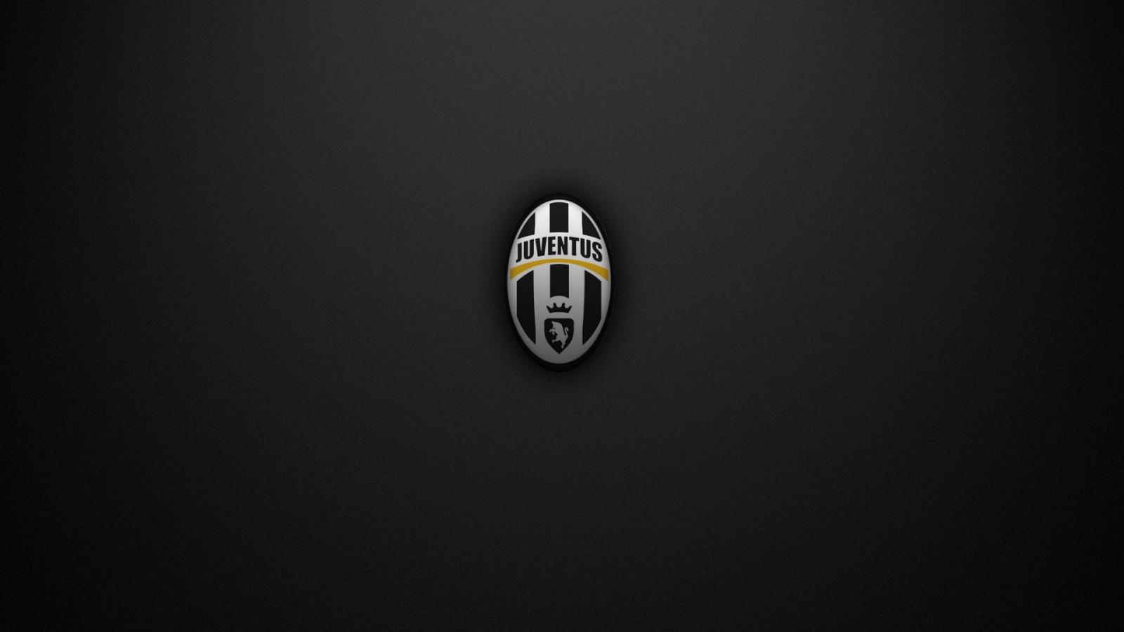 juventus the white blacks super logo black background