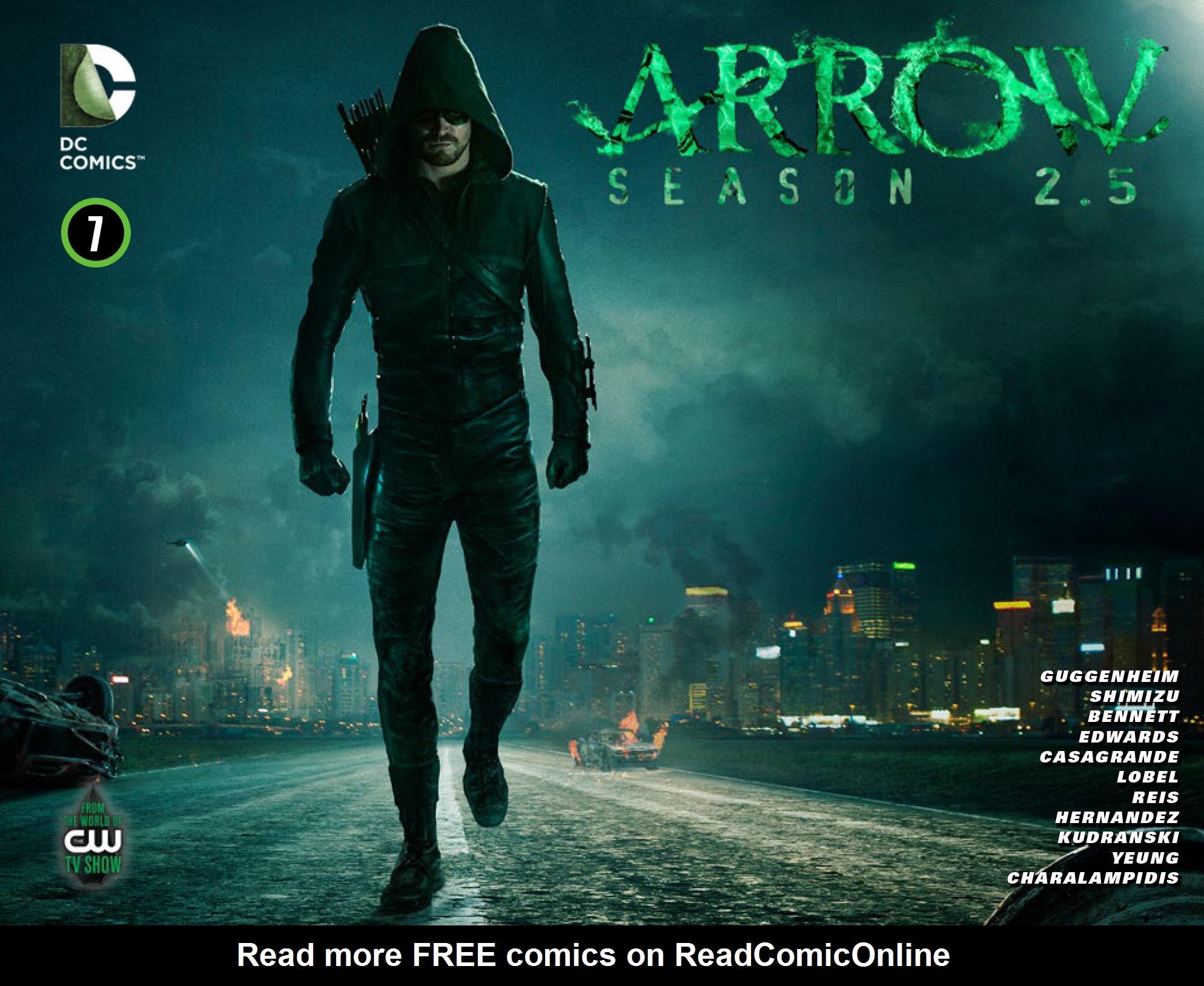 Read online Arrow: Season 2.5 [I] comic -  Issue #7 - 1