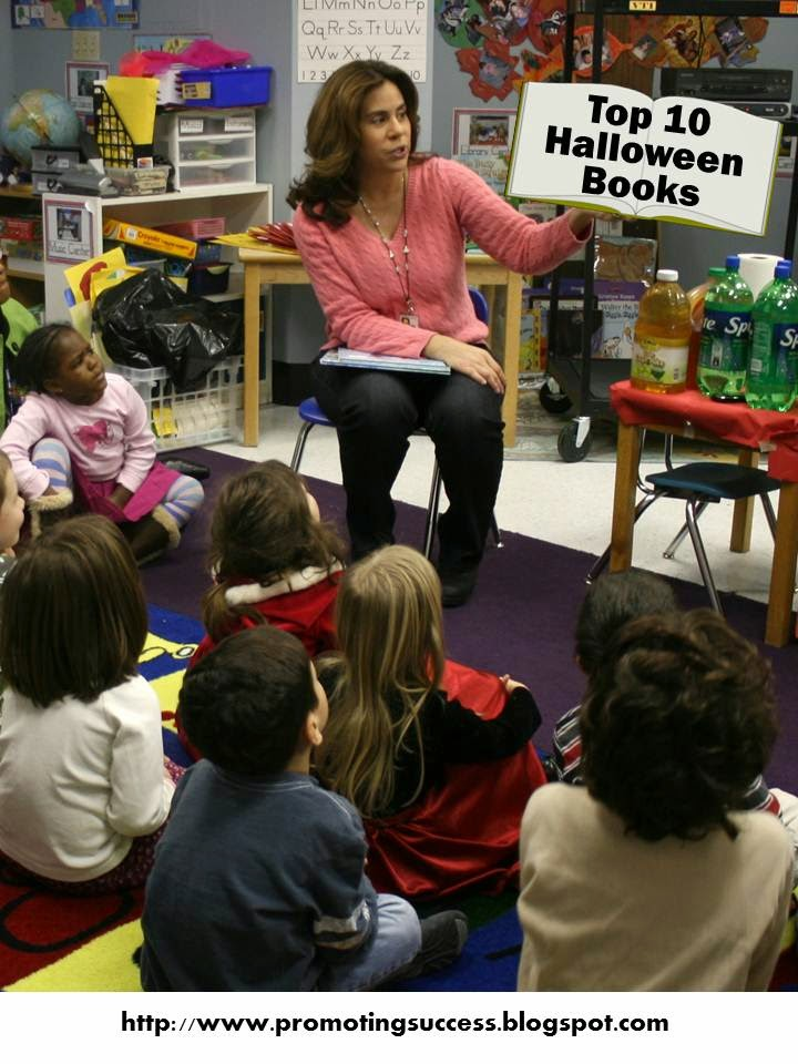 Halloween Books Teachers Pay Teachers Promoting-Success