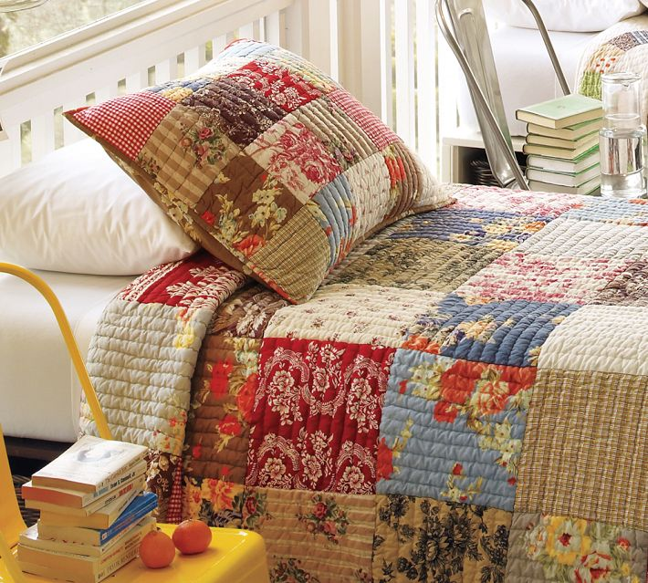 Purth Stitch Knit Witch Pottery Barn Quilts