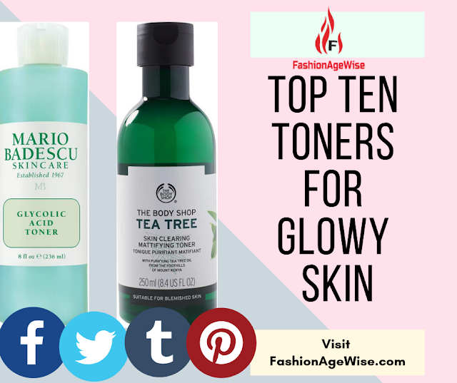 image result TOP TEN TONERS FOR GLOWY SKIN