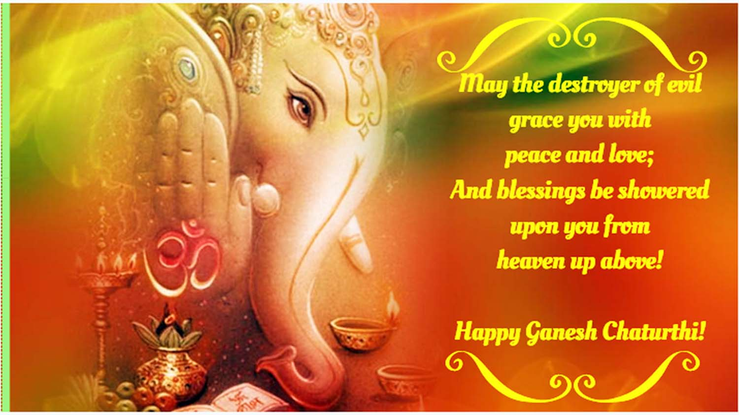 Ganesh Chaturthi greeting message