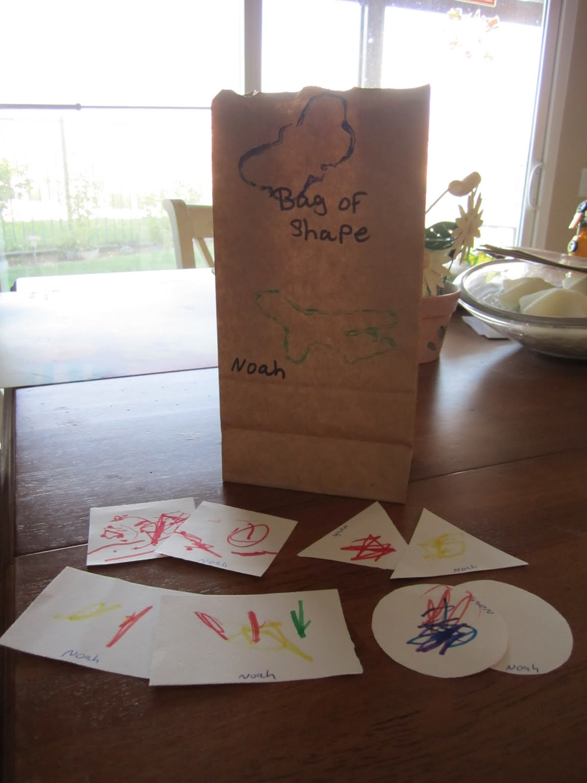 The Life And Times Of Noah Hugh What I M Learning In Preschool September