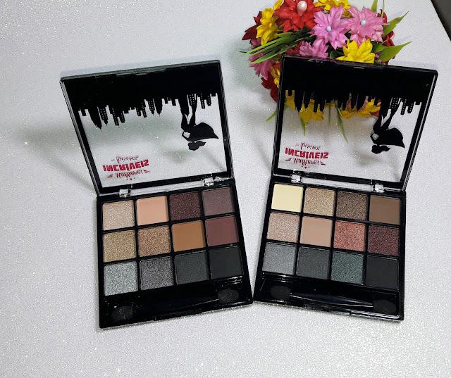 Paletas de sombras Coleção mulheres incríveis luisance, cores cintilantes - Comprinhas