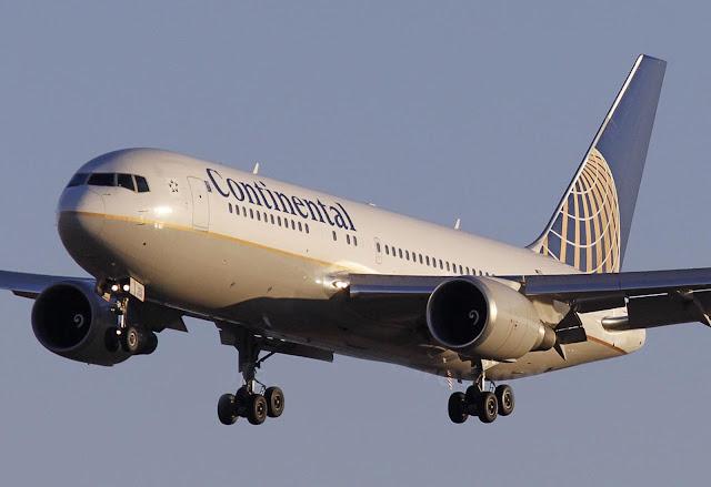 Continental Boeing 767-200ER