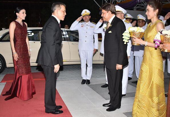 King Maha Vajiralongkorn and Queen Suthida attended the Jose Carreras - Bangkok Concert at Bangkok's 21st International Festival