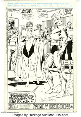 Original art for West Coast Avengers #56, page 22