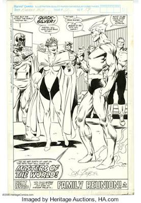 Original art for West Coast Avengers #56, page 22