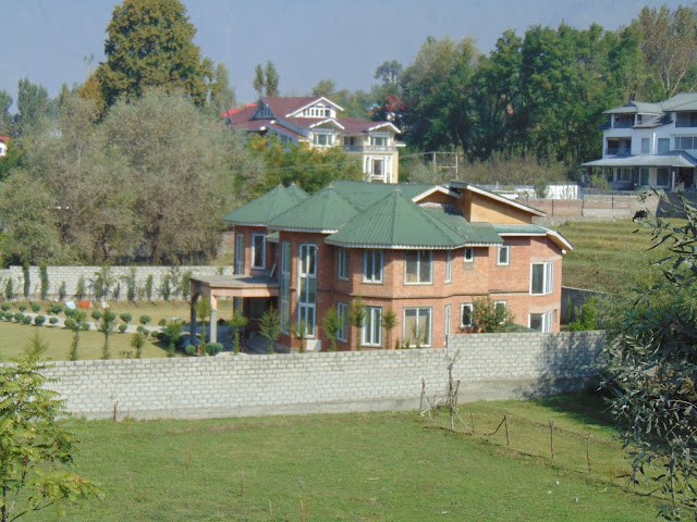 view from nishat garden