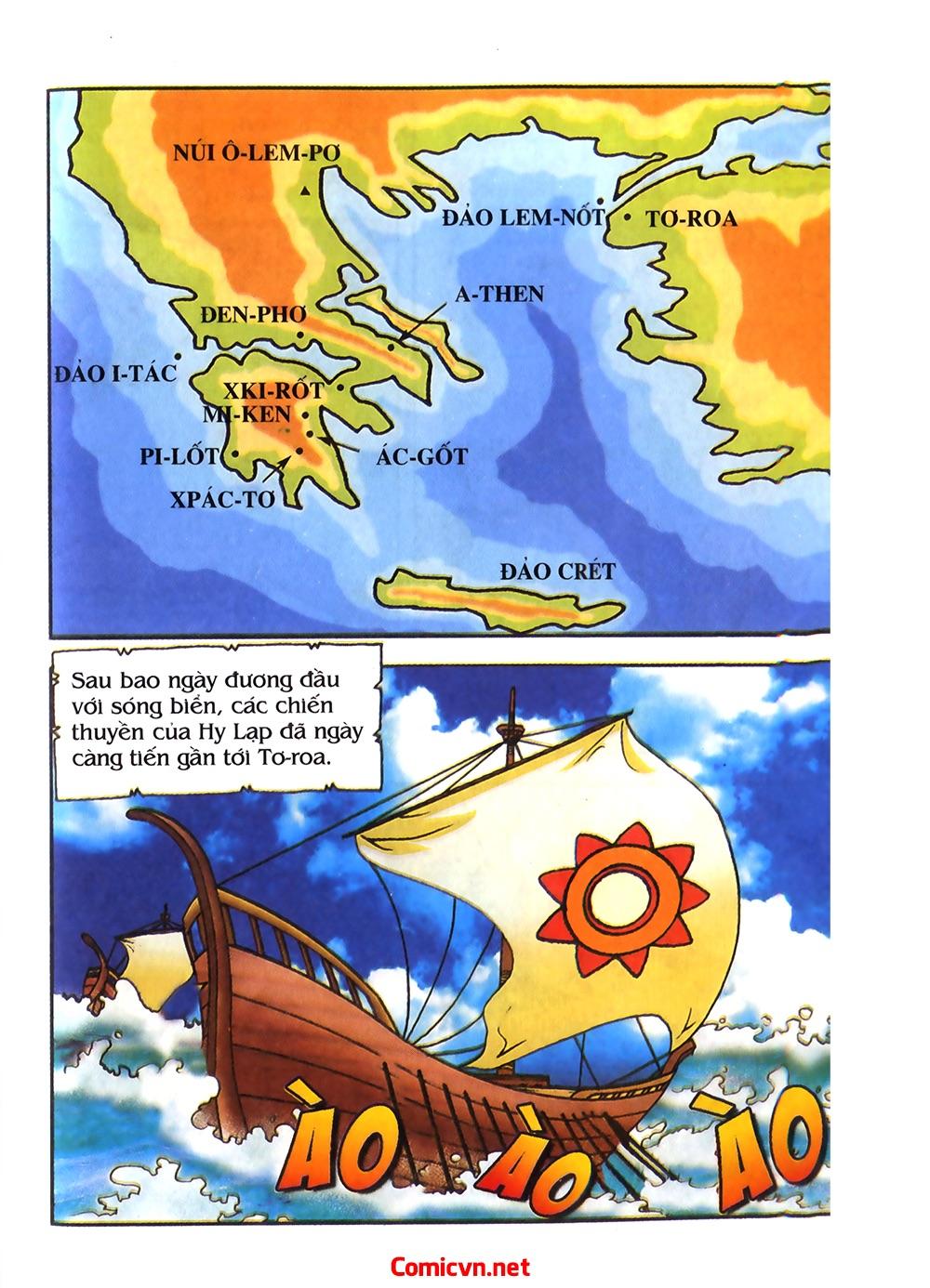 Thần Thoại Hy Lạp Màu - Chapter 54: Tiến về thành Troy - Pic 7