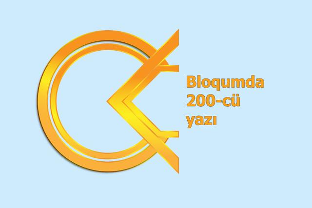 Bloqumda 200-cü yazı - Cavid Abasov