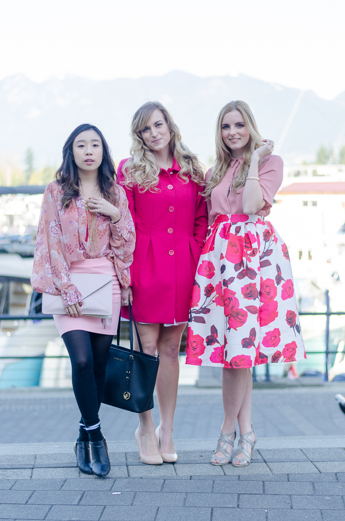 the urban umbrella, vancouver style blog, vancouver fashion blog, vancouver lifestyle blog, vancouver health blog, vancouver fitness blog, vancouver travel blog, canadian fashion blog, canadian style blog, canadian lifestyle blog, canadian health blog, canadian fitness blog, canadian travel blog, bree aylwin, chicwish floral midi skirt, how to style a midi skirt, what to wear with a midi skirt, how to style floral print, hm blouse, how to style pink, spring 2015 style, spring 2015 outfit ideas, best fashion blogs, best style blogs, best lifestyle blogs, best fitness blogs, best health blogs, best travel blogs, top fashion blogs, top style blogs, top lifestyle blogs, top fitness blogs, top health blogs, top travel blogs