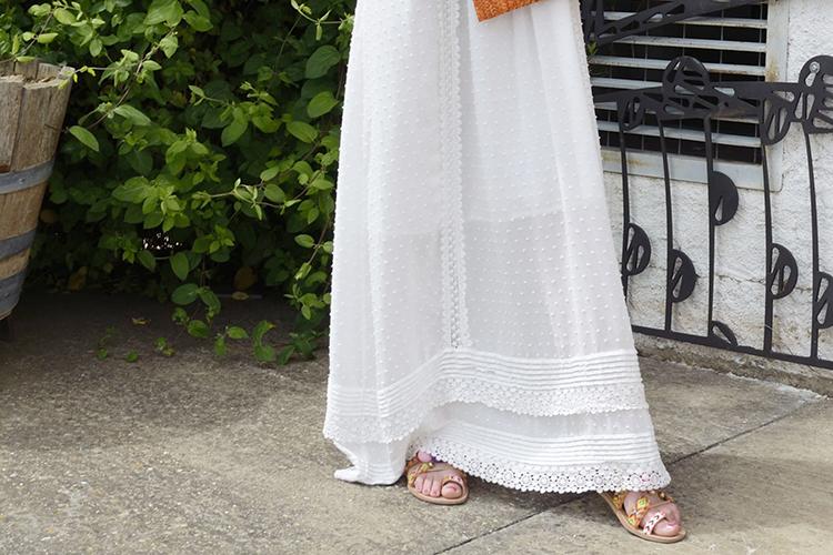 vestido-largo-verano-look-summer-sandalias-borlas-pompones-colores